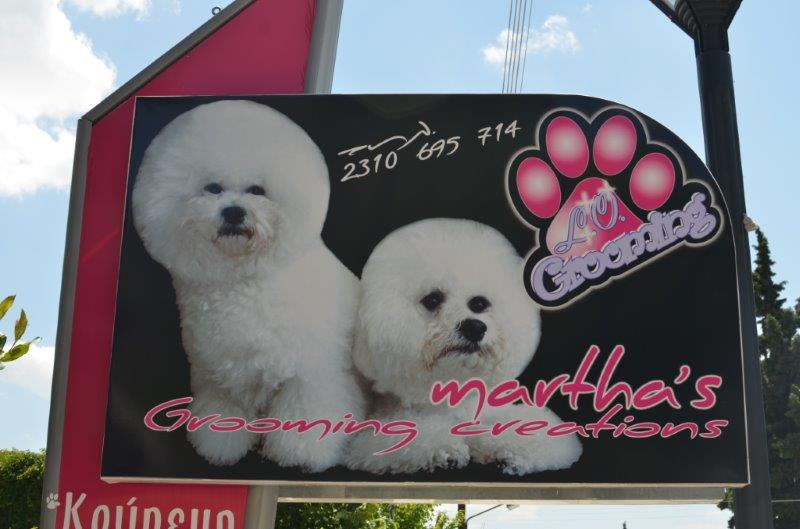 Martha's grooming creations