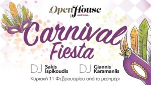 the open house carnival fiesta